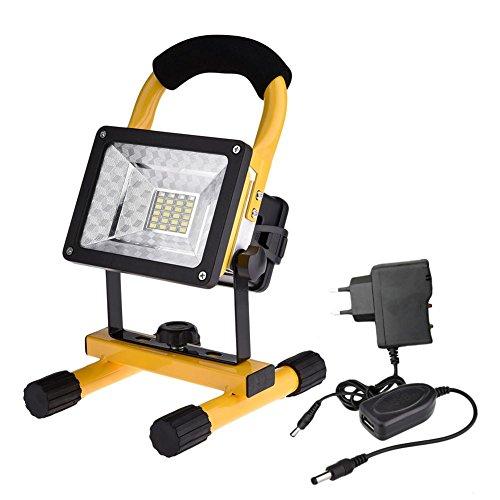 30W LED Camping Lampe USB Notfallleuchte Powerbank Notlicht LED Strahler Spotlight für Outdoor-Aktivitäten ideal für Zelt, Zuhause, Wandern, Camping, Hurrikan, Stromausfall (Hurrikan Breit)