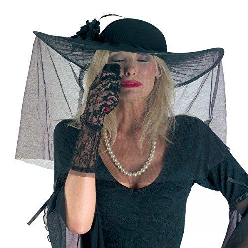 Damenhut mit Tüllschleier (2017 Halloween Für Jungs Kostüme Ideen)