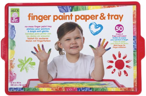 alex-tots-finger-paint-paper-and-tray