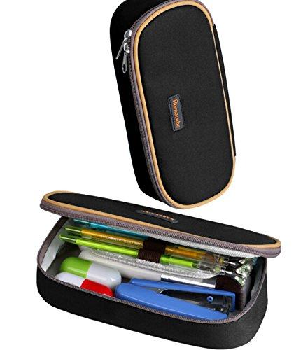 Preisvergleich Produktbild Bleistift-Halter, Homecube Bleistift-Kästen mit großer Kapazität des praktischen Briefpapiers für Kursteilnehmer (Schwarzes).