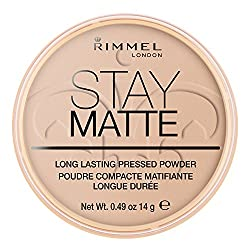 Rimmel London Stay Matte Pressed Powder - Silky Beige - 14gm