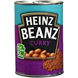 HEINZ Beanz Curry - Lot de 4