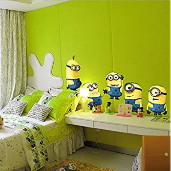 DESPICABLE ME 2 Wall Stickers Vinyl Art Decals Room Kid Decor MINIONS  Removable. Part 96