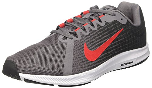 Nike Herren Downshifter 8 Laufschuhe, Grau (Anthracite/speed Red/gun Smoke/black/white 005) , 44.5 EU