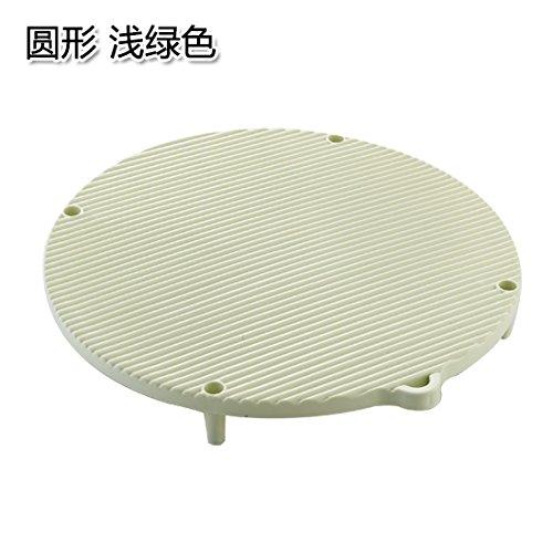 KXZDAS Ampliable Dumpling plástico Rectangular Pasta