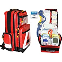 PROFI Erste Hilfe Notfallrucksack Betriebssanitäter aus Plane mit aut. Blutdruckmessgerät von Team Impuls preisvergleich bei billige-tabletten.eu