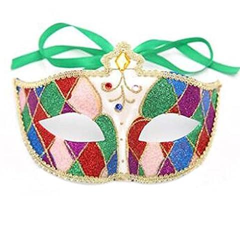 Masquerade Requisiten Halloween Maske Venedig Palace Maske Halloween Kostüm Maske (Venedig Karneval Kostüme Uk)