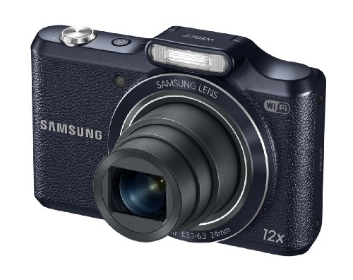 Samsung WB50F 16.2MP Smart WiFi and NFC Digital Camera with 12x Optical Zoom and 3.0-inch LCD (Black)