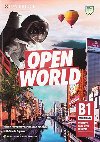 Open World Preliminary Student's Book with Answers English for Spanish Speakers