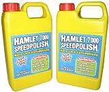 Hamlet 6802 7000 Speedpolish Nano Lack Versiegelung Profi-Set, 2-mal 500ml