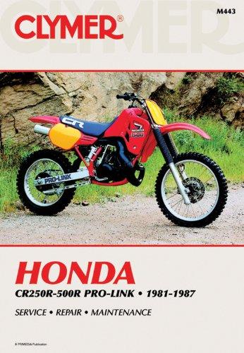 Honda Cr250-500R Pro-Link, 1981-1987: Service Repair Maintenance/M443