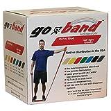 Trainingsband / Gymnastikband, Länge 45 m, CanDo® Go-Band, rot (leicht)