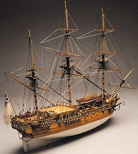 Mantua Panart 1749 Royal Caroline 1:47 Scale Kit - King George II Royal Yacht