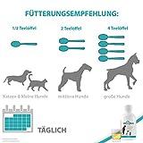 IdaPlus- BARF Leinöl [kaltgepresst] – für Pferde | Reich an Vitamin D, Omega- 3 und Omega- 6 Fettsäuren | Fördert starken Knochenaufbau und sorgt für ein glänzendes Fell (500 ml) - 2