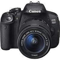 Canon EOS 700D SLR-Digitalkamera (18 Megapixel, 7,6 cm (3 Zoll) Touchscreen, Full HD, Live-View) Kit inkl. EF-S 18-55mm 1:3,5-5,6 IS STM