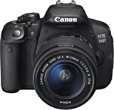 Canon EOS 700D SLR-Digitalkamera (18 Megapixel, 7,6 cm (3 Zoll) Touchscreen, Full HD, Live-View) Kit inkl. EF-S 18-55mm 1:3,5-5,6 IS STM -