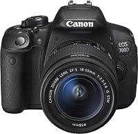 Canon EOS 700D - Appareil photo numérique - Reflex - 18.0 Mpix - 3 x zoom optique objectif EF-S 18-55 mm IS STM