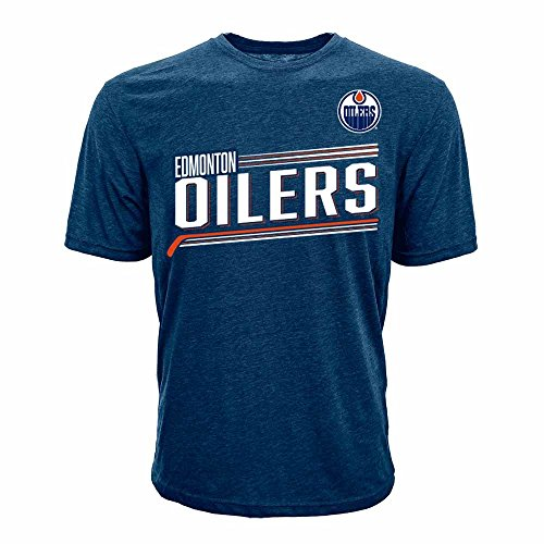 Levelwear NHL Herren Zuckerguss Name & Nummer Tee, Herren, Icing Name and Number Men's Tee, Solid Navy, X-Large