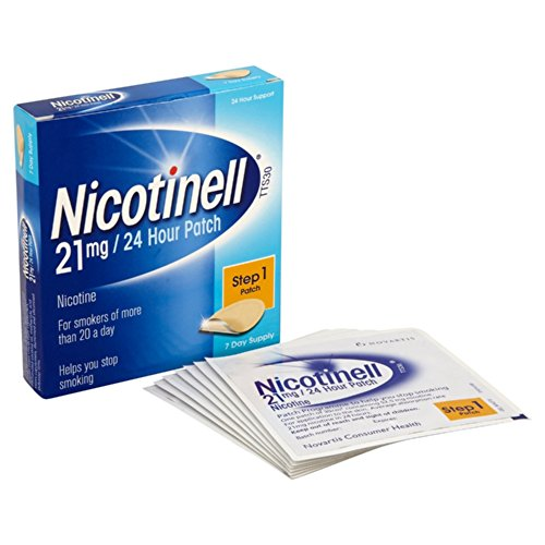Nicotinell 21 mg/24 Hour Nicotine Patch Step 1, 7 Day Supply