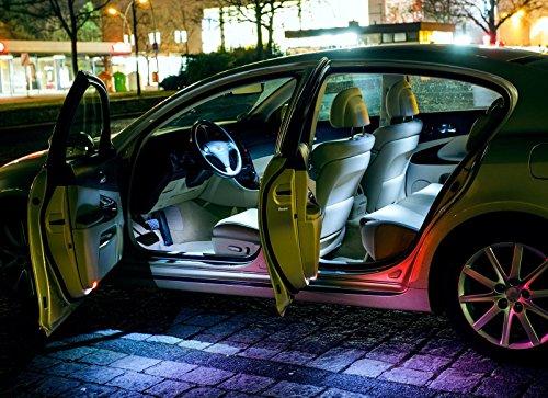 Preisvergleich Produktbild MitsubishiASXGA_W_ XENON WEISSE Innenraumbeleuchtung Set, mit Check Widerstand, Plug & Play Einbau, Umrüstsatz von INION®
