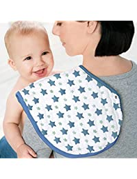 G-Hawk Paquete de 3 Pañales para bebé, 55 × 24 CM, 100% Algodón orgánico Ultra Suave y Absorbente para bebé Recién…
