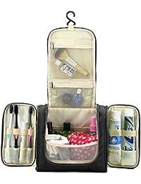 BlueBeach® Sac de toilette de voyage / portable maquillage cosmétiques organisateur et les hommes de rasage kit / salle de bains suspendus cas cosmétique et kit de toilettage stockage