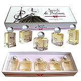 CHARRIER Parfums–'Secrets de Parfum' 5Damen Parfüm Geschenk-Box 1,7fl. oz