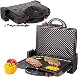 XL Grill elettrico 2000w angolo 180° Grill da tavolo tostiera tostapane immagine