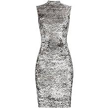 FIND  Vestido de Fiesta de Terciopelo para Mujer