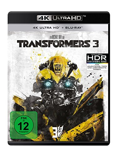 Transformers 3 (4K Ultra HD) (+ Blu-ray 2D)