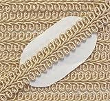 Posamentenborte beigegold 12 mm