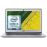 "Acer Swift 3 - SF314-51-535U Ultrabook 14"" Silver (Processeur Intel® CoreTM i5, 8 Go de RAM, SSD 256 Go, Intel HD Graphics 620, Windows 10)"