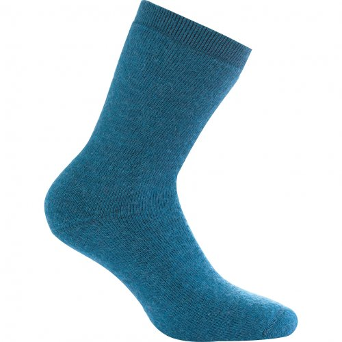 (blue - petrol, 45-48) - Woolpower 800 Socks black 2018