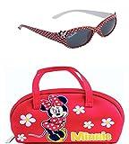 Ensemble de lunettes de soleil Disney Minnie Mouse et lunettes