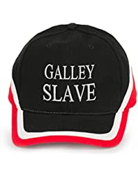 4sold 100% Cotton Ancient Mariner, Captain Cabin Boy Crew First Mate Yachting Baseball Cap inscription Lettering Red Black White