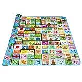 Kids two-sided educativo tappetino gioco morbido Baby reversibile Crawling schiuma cuscino non tossico picnic tappeto