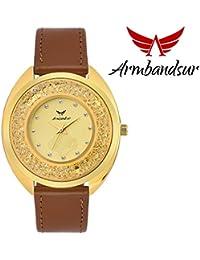 Armbandsur swarovski edition golden dial watch for women- ABS0064GGB