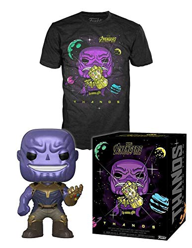Funko Avengers Infinity War Pop! & tee Box Thanos Size L Marvel Shirts