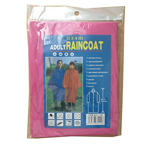No.1 Gifts - Manteau imperméable - Femme RC1109Pink