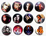 The Bigger vivider 4,4cm Viel 12Awesome Pin Button Nick Cave Album Brosche
