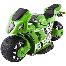 deAO Moto de Carreras GP Teledirigida Experiencia 4D a Pequeña Escala Incluye Batería Recargable y Cargador USB