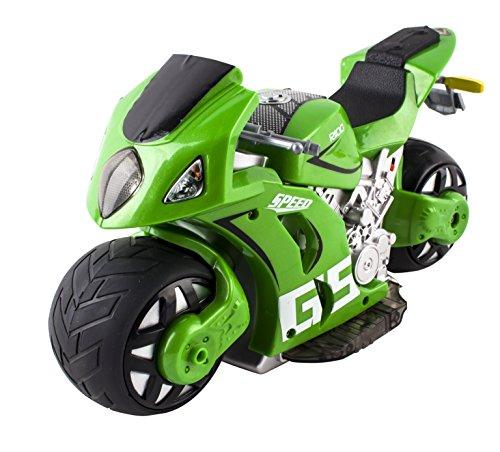 deAO Moto da Corsa *GP* con Controllo Remoto 4D e Batteria Ricaricabile (Verde)