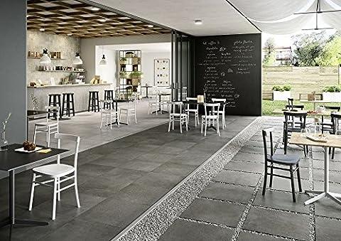 Marazzi Plaster anthracite 60x 120cm mmau carrelage sol rivestimeni en céramique pour maison salle de bain cuisine extérieur en offre