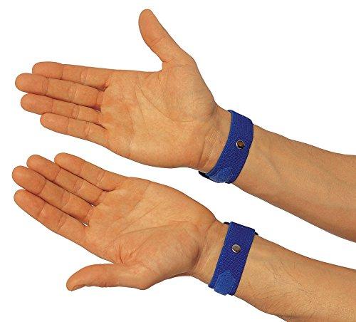 Acushen C7 Shen Men Akupressur Armbänder (Schlaflosigkeit) 2 Stück, marinblau -