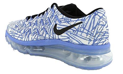 Nike Wmns Air Max 2016 Print, Chaussures de Running Entrainement Femme Bleu - Azul (Chalk Blue / Black-Sail)