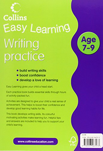 Easy Learning: Writing Age 7-9 (Collins Easy Learning Age 7-11)