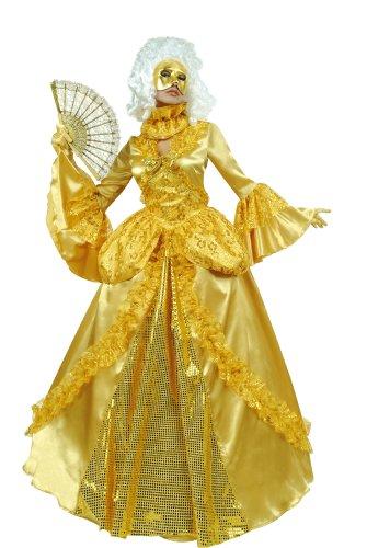 Cesar - B073-005 - Costume - Marquise Or avec Masque - T 40 cm