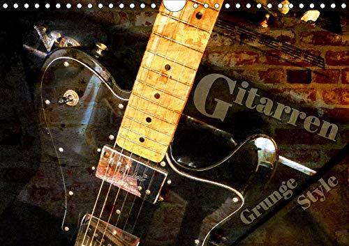 Gitarren - Grunge Style (Wandkalender 2020 DIN A4 quer)
