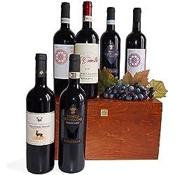 Vini Toscani di Qualità in Cassetta Legno : Vini che Rispecchiano la Tradizione della Raffinata Arte dell'Enologia Toscana.