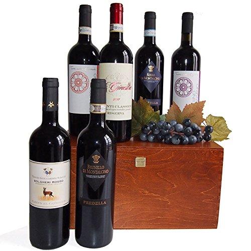 Vini Toscani di Qualità in Cassetta Legno : Vini che Rispecchiano la Tradizione della Raffinata Arte dell